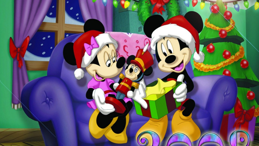852x480 Mickey Mouse desktop PC and Mac wallpaper