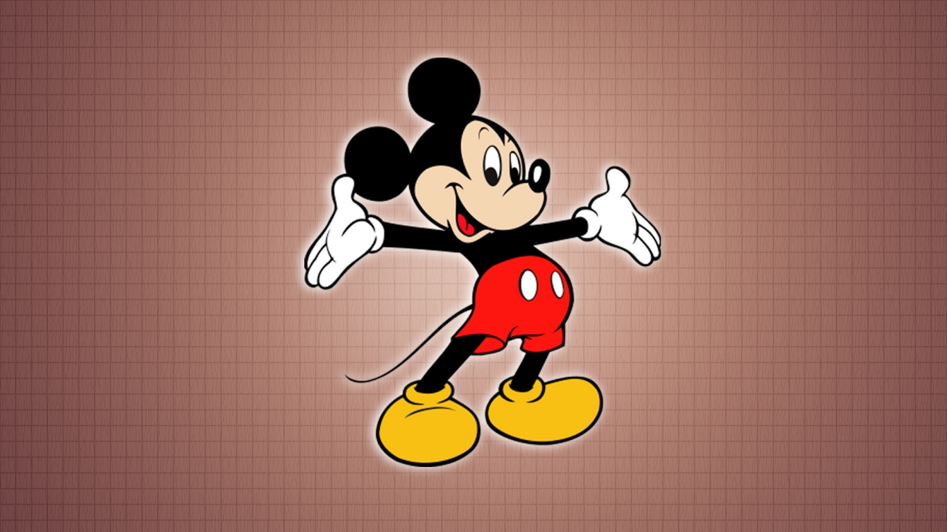 1366x768 Micky Mouse desktop PC and Mac wallpaper