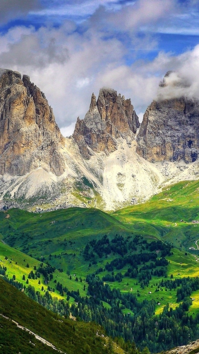 640x1136 mighty dolomites europe italy iphone 5 wallpaper voltagebd Images