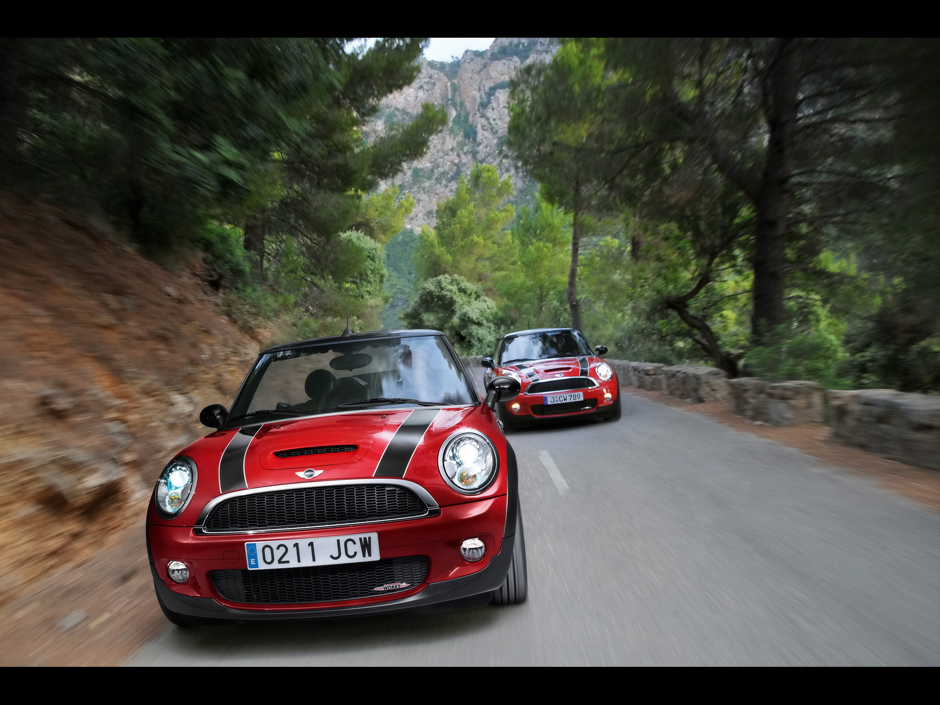 mini cooper jcw pursuit wallpapers 14411 1920x1440