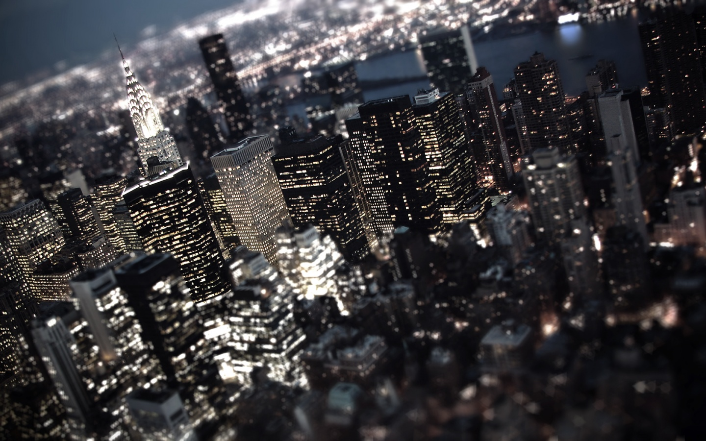 1440x900 miniature new york city desktop pc and mac wallpaper
