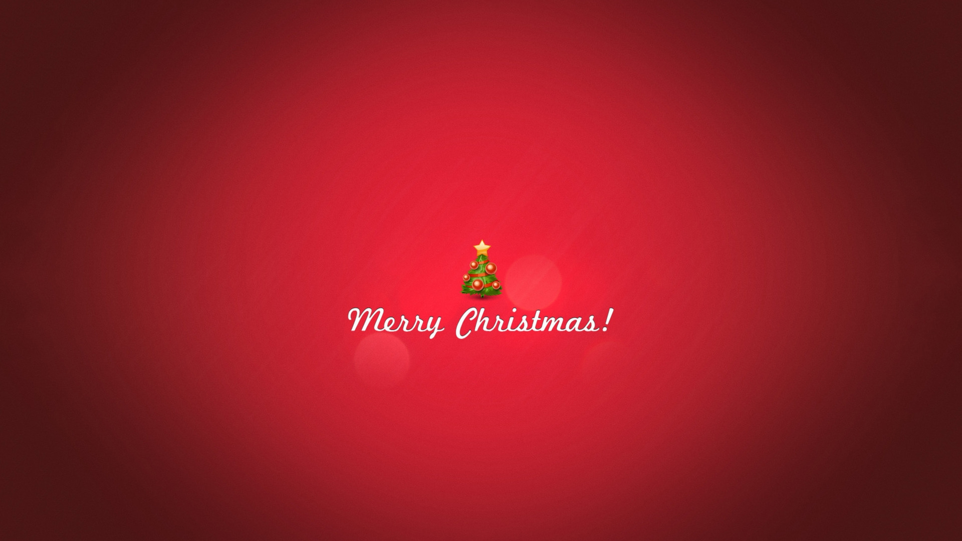 1920x1080 Minimal Christmas Desktop PC And Mac Wallpaper