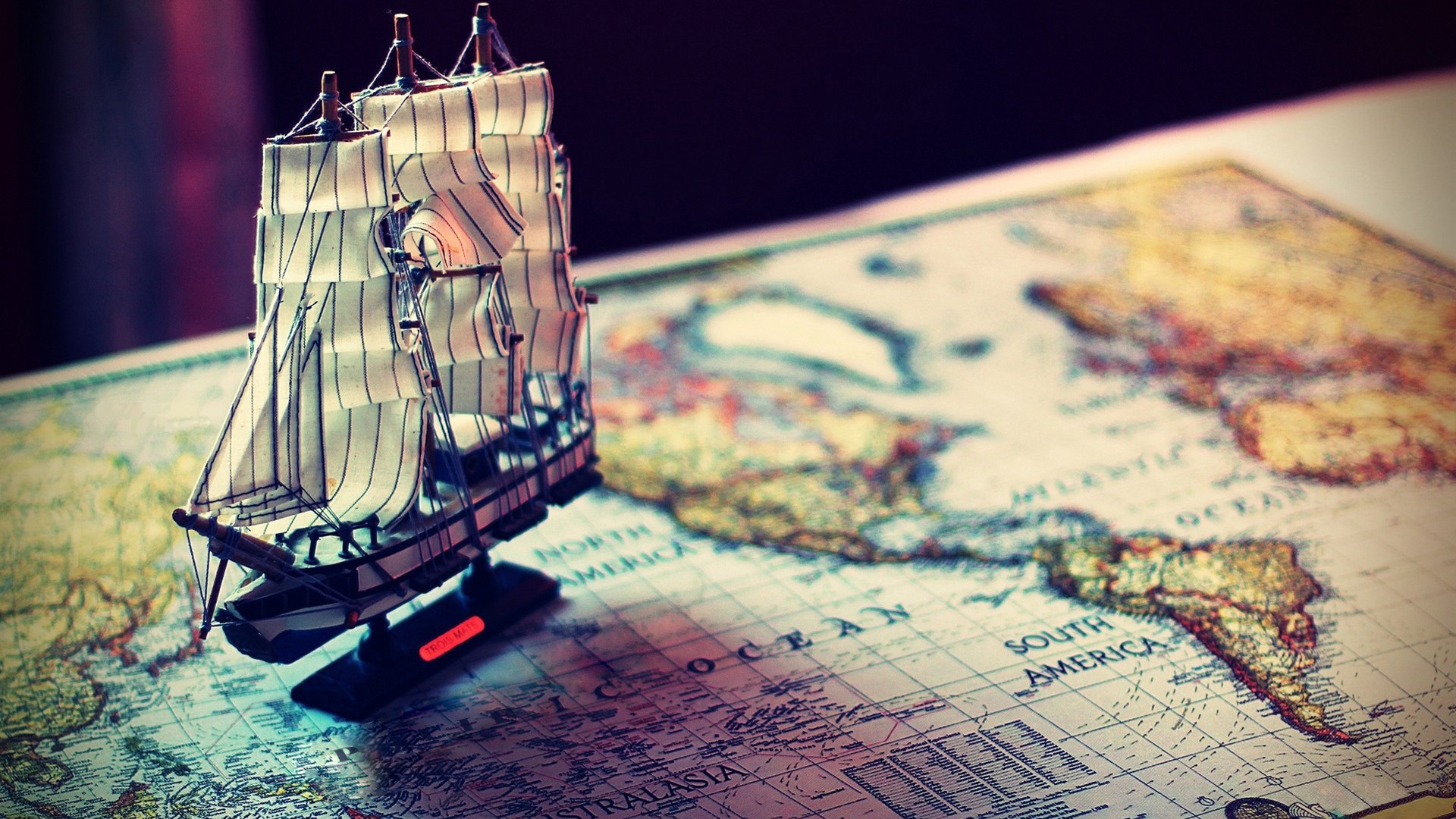 1920x1080 model ship and world map desktop pc and mac wallpaper 1920x1080 model ship and world map gumiabroncs Gallery