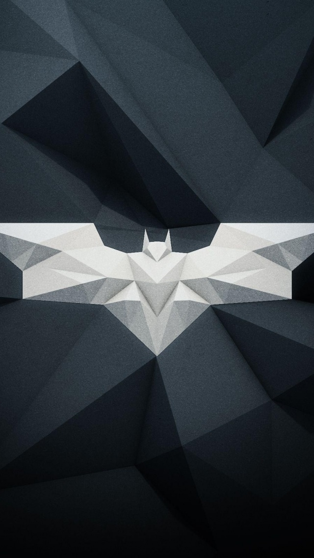 640x1136 Modern Batman Logo Iphone 5 wallpaper