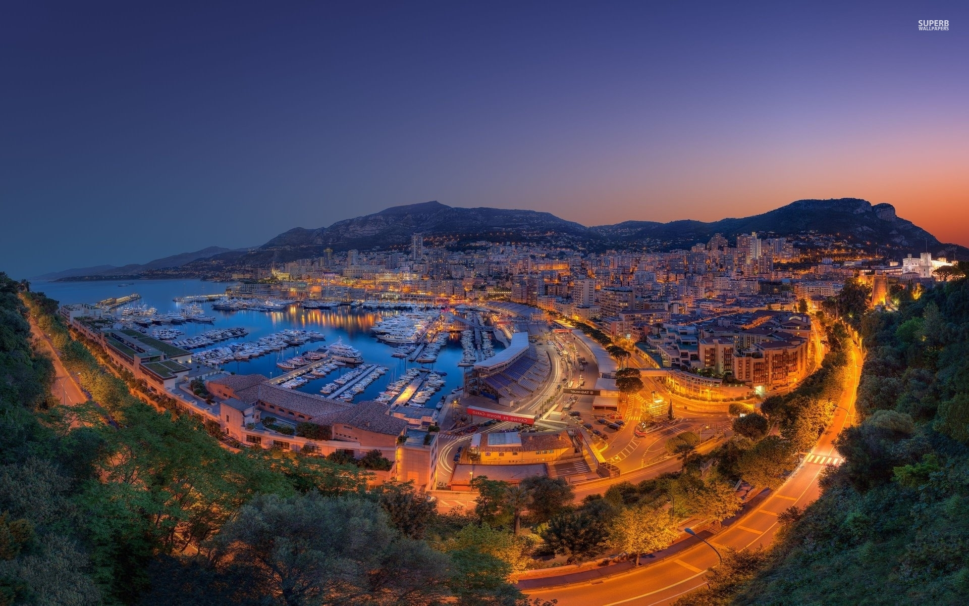 Monaco City Twelve Wallpapers Monaco City Twelve Stock