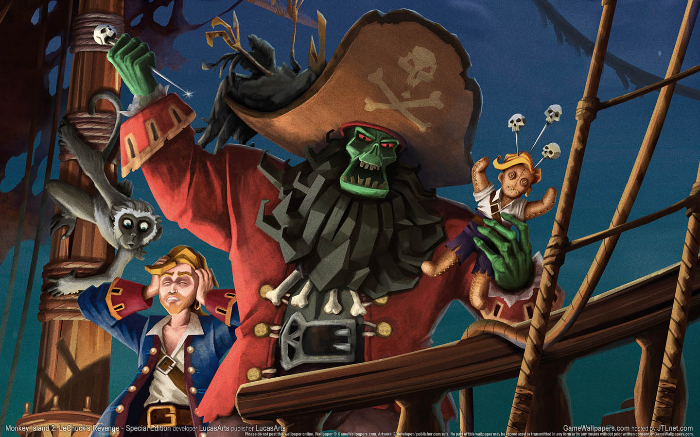 monkey island 2 wallpapers monkey island 2 stock photos