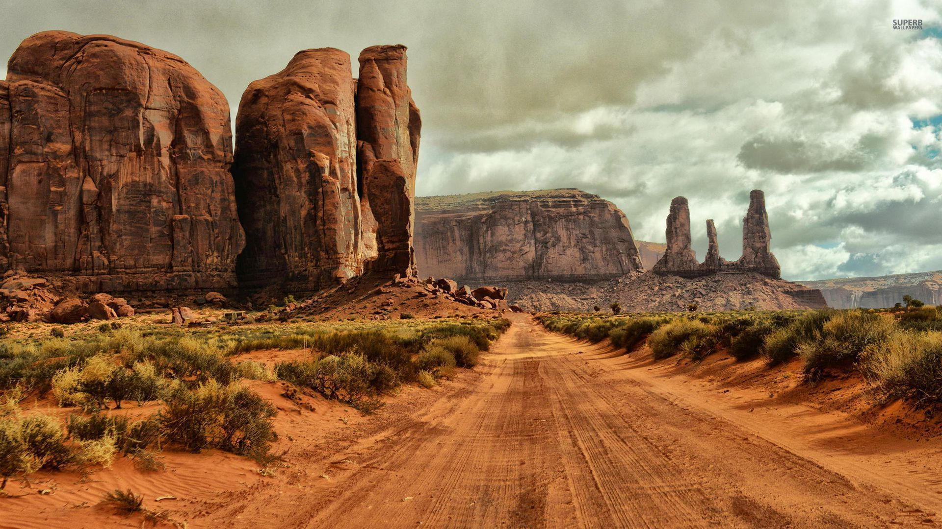 1920x1080 Monument Valley Arizona Utah Desktop Pc And Mac Wallpaper