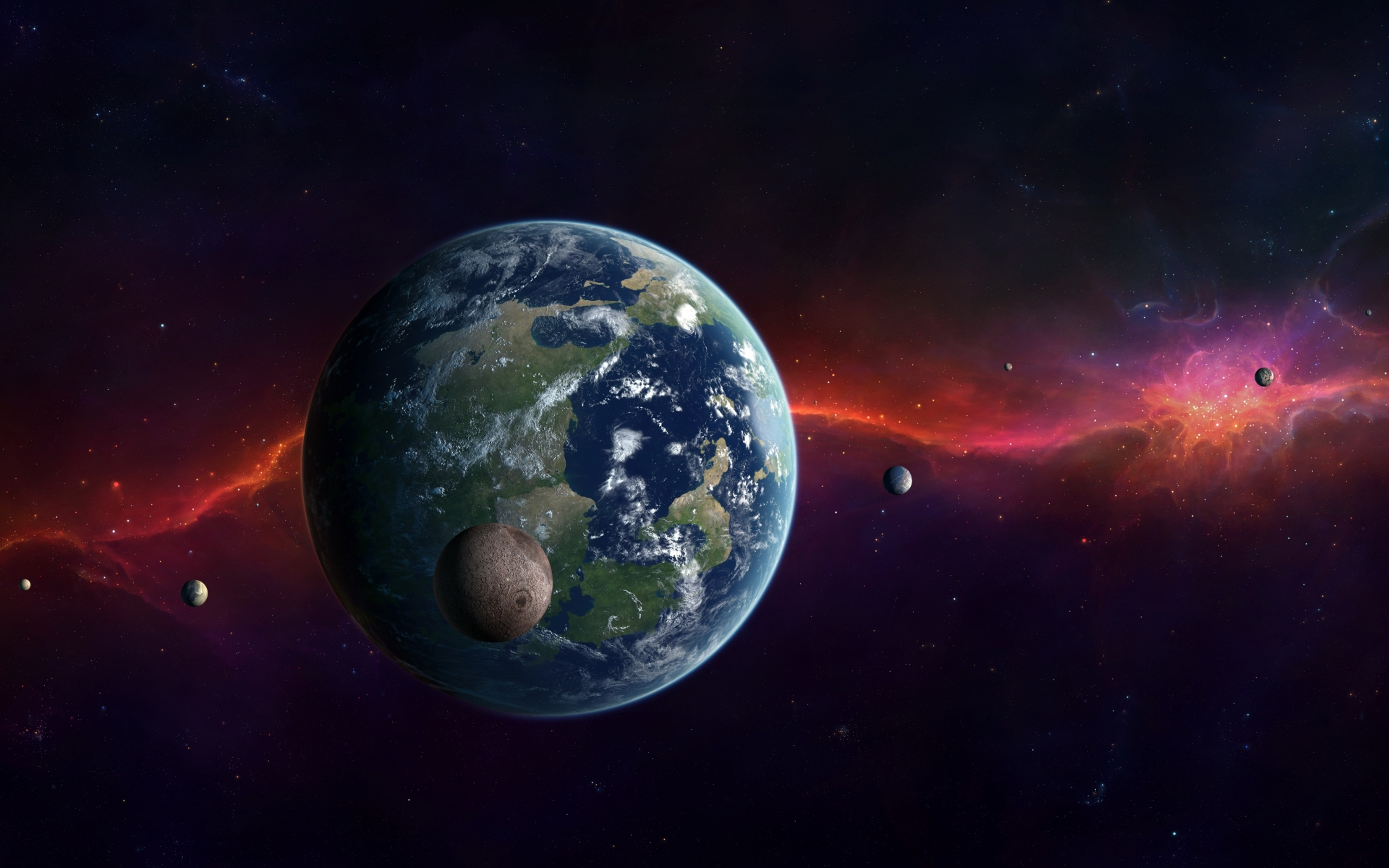 earth view from other planets - photo #49