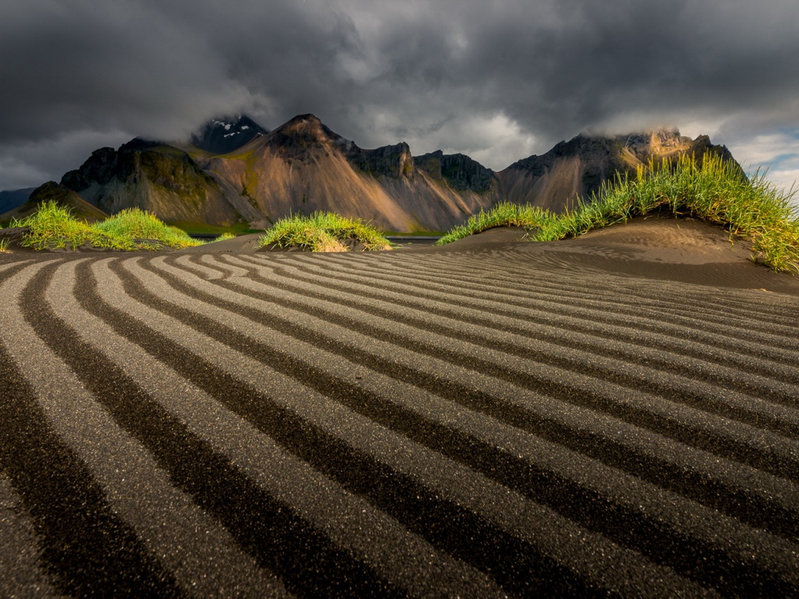 1152x864 Morning In Vestrahorn Iceland