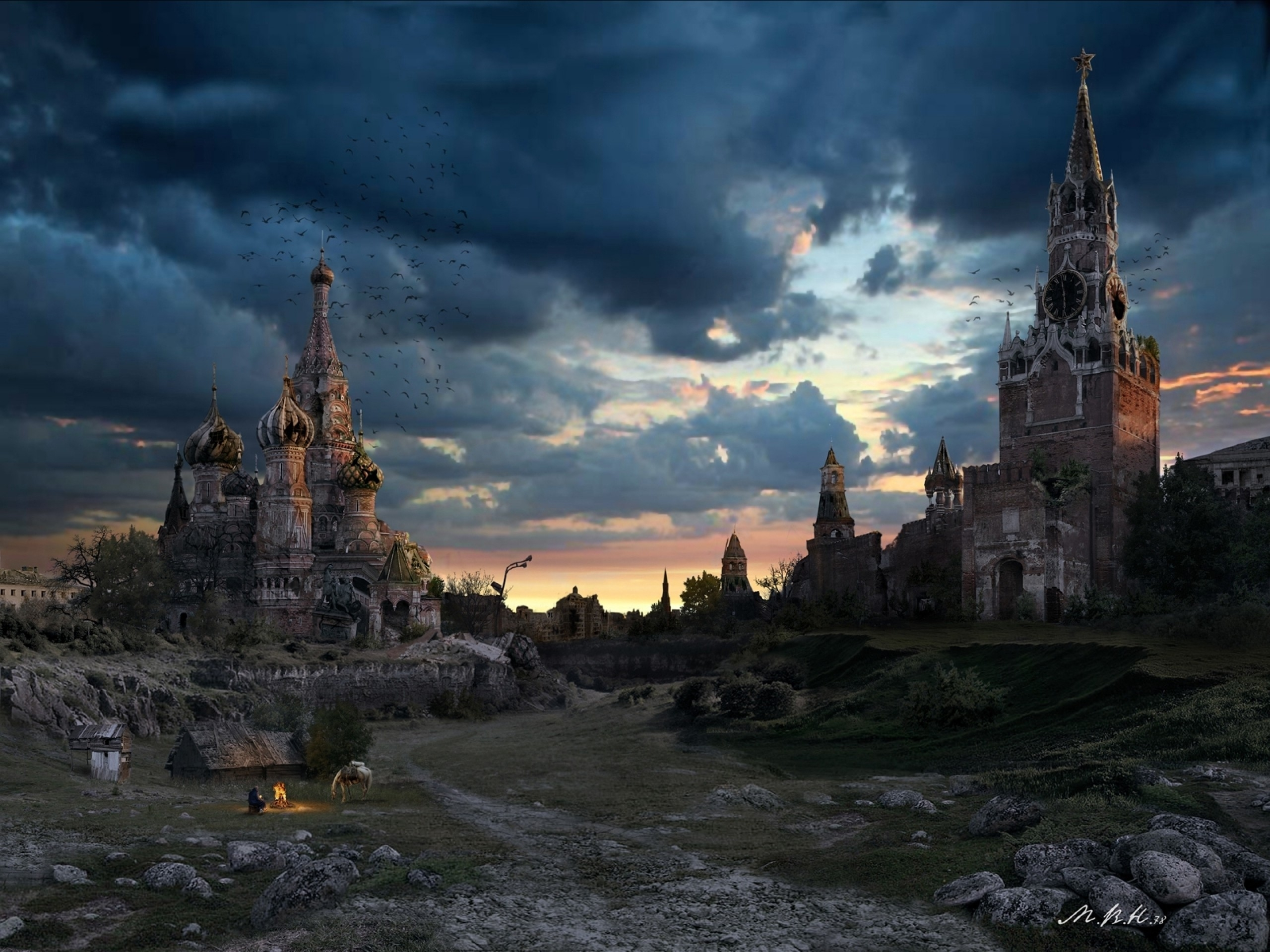 Moscow Red Square Apocalyptic Wallpapers Moscow Red