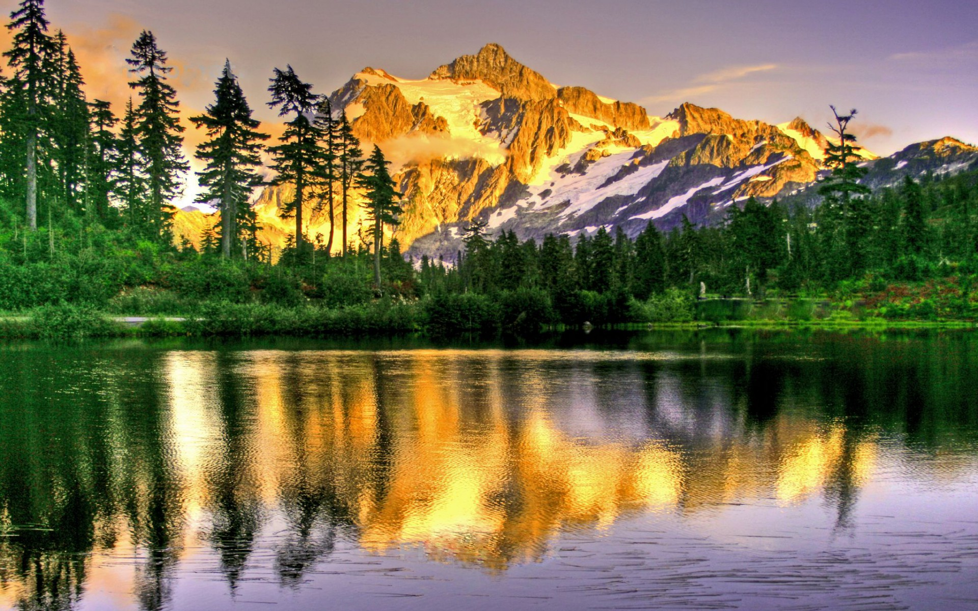 Mount Shuksan Washington Wallpapers Mount Shuksan