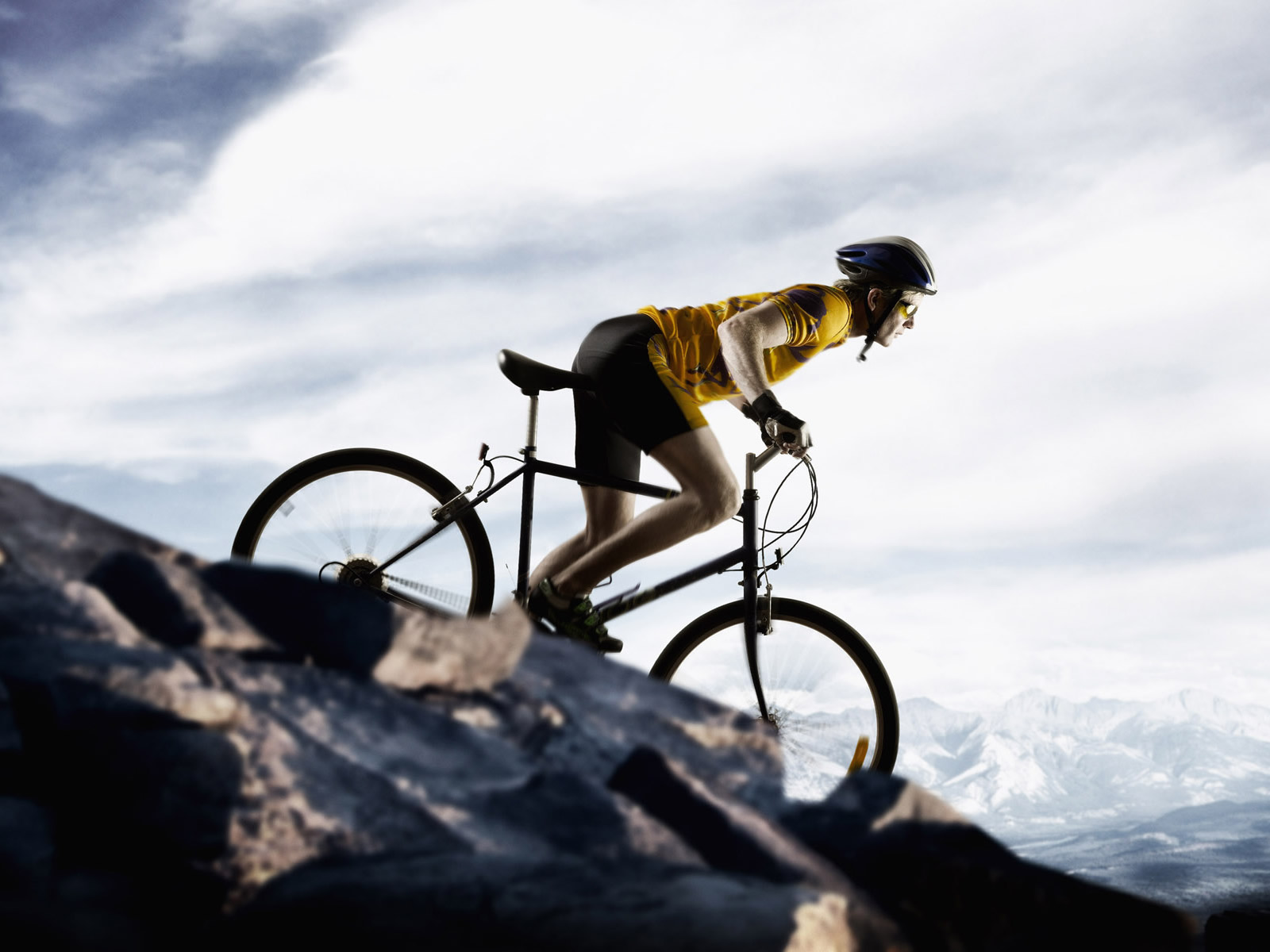 1600x1200 Mountain bike desktop wallpapers and stock photos