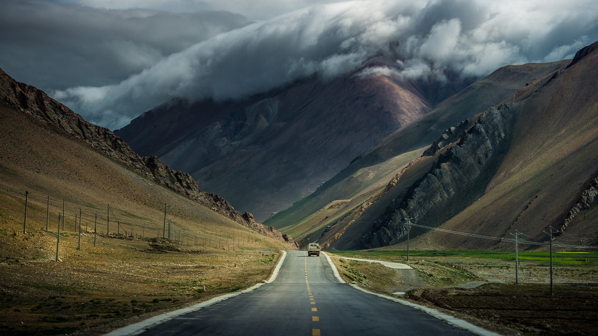 Wonderful Wallpaper Mountain Car - mountain-clouds-storm-road-car_wallpapers_41759_1920x1080  Pic_279589.jpg