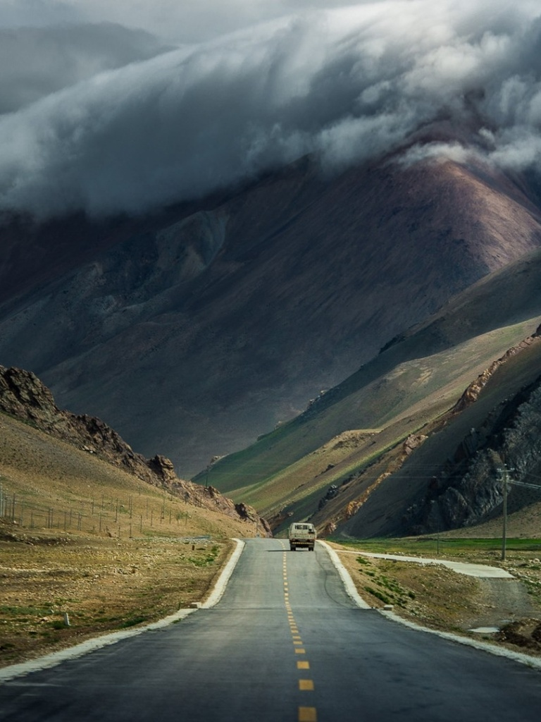 Beautiful Wallpaper Mountain Car - mountain-clouds-storm-road-car_wallpapers_41759_768x1024  Perfect Image Reference_234794.jpg