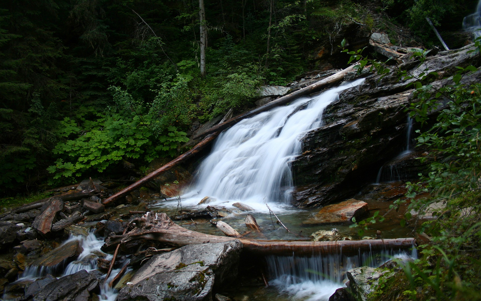 Image Mountain Waterfall Wallpapers And Stock Photos