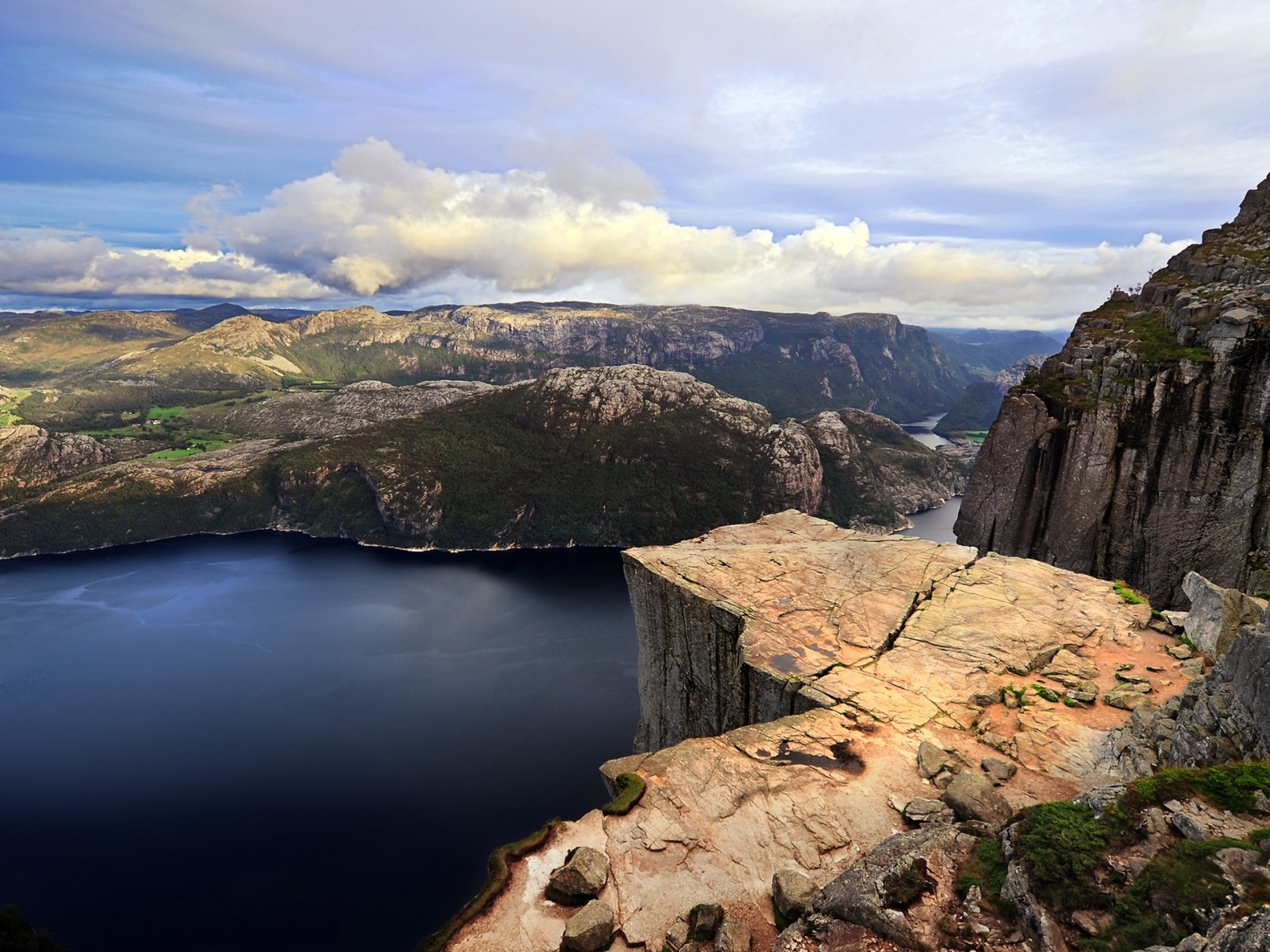 Mountains High Cliff & River wallpapers   Mountains High ...