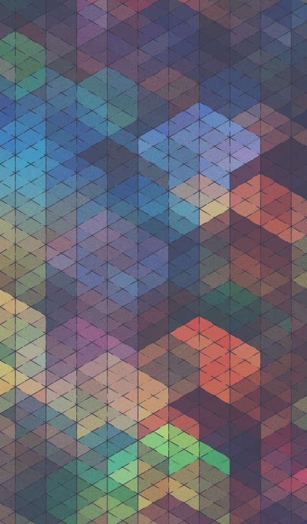 600x1024 Multicolor Patterns by Simon C. Page