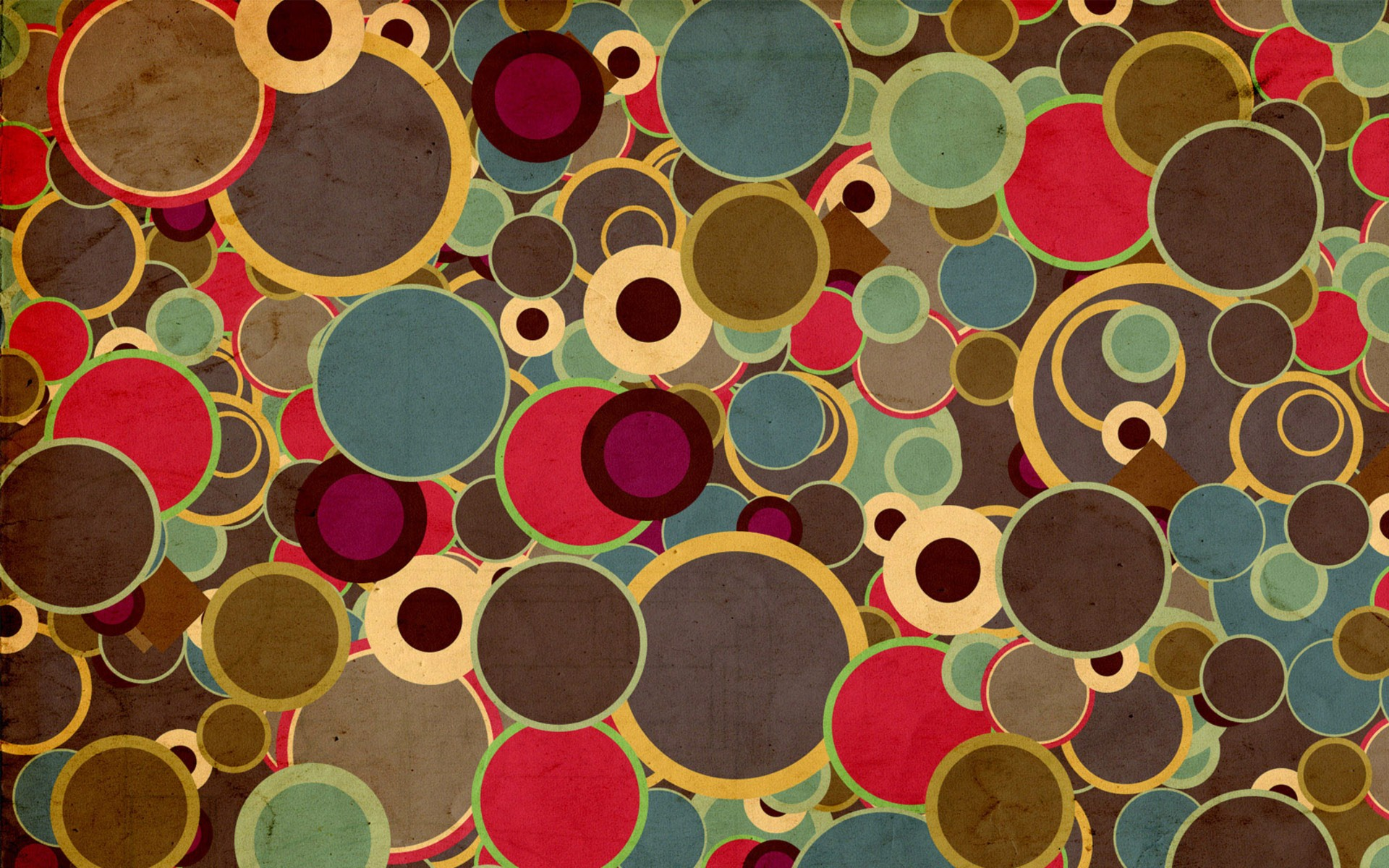 1920x1200 Multicolored Circles