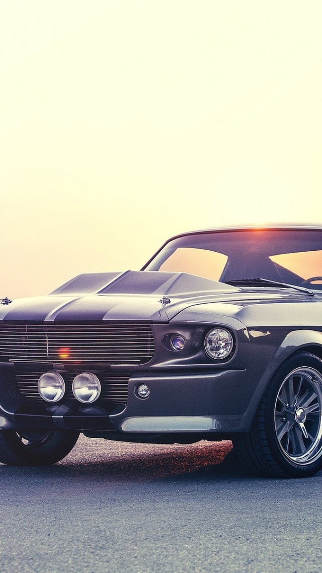 640x1136 muscle car mustang iphone 5 wallpaper - Iphone 5 car backgrounds ...
