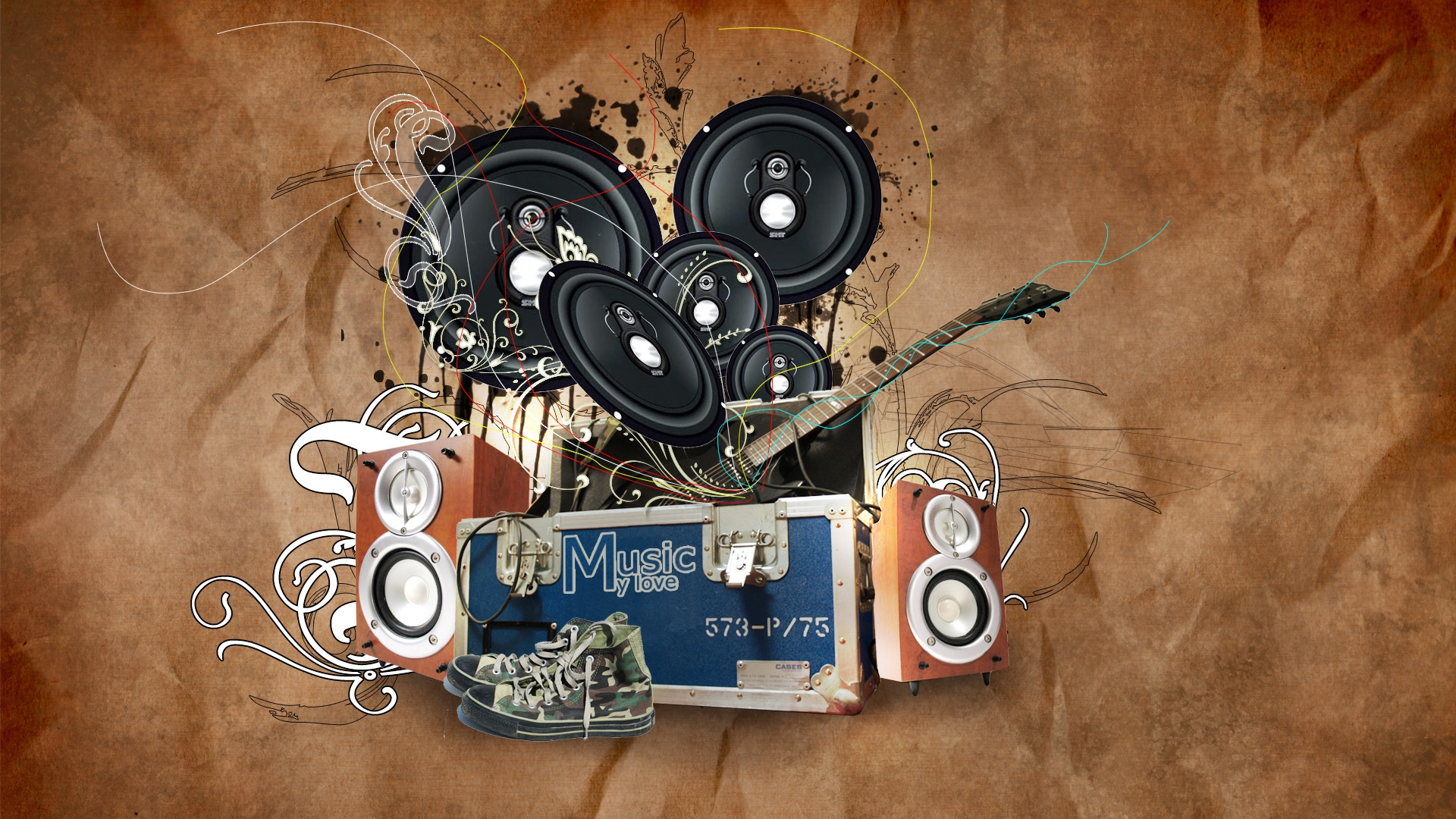 1920x1080 Music Love Desktop Pc And Mac Wallpaper
