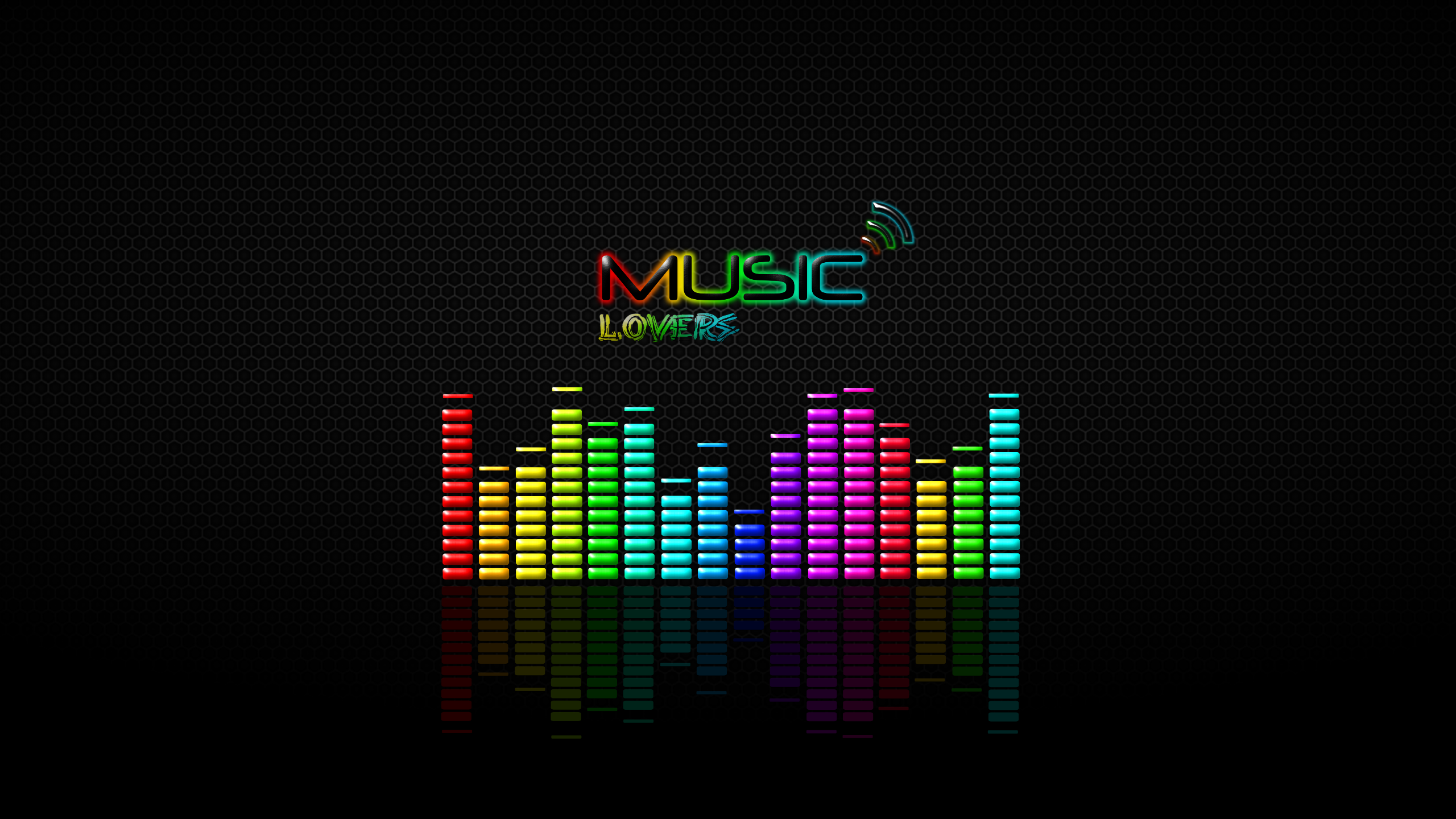 2560x1440 Music Lovers YouTube Channel Cover