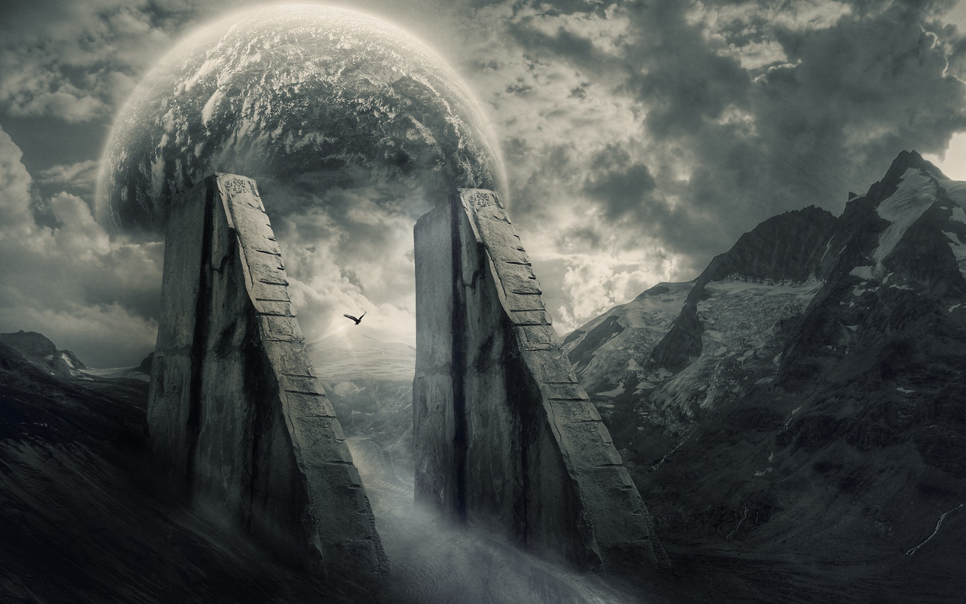 A Collection Of Dark Mysterious Hd Fantasy Wallpapers: Mysterious Scenery Wallpapers