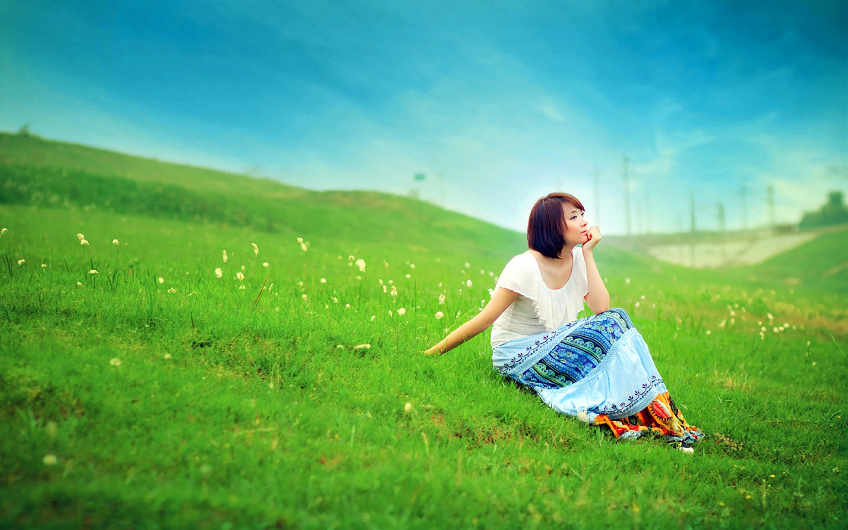 humans and the natural environment The natural environment encompasses all living and non-living things occurring  naturally,  such as urban settings and agricultural land conversion, the natural  environment is greatly modified into a simplified human environment even acts.