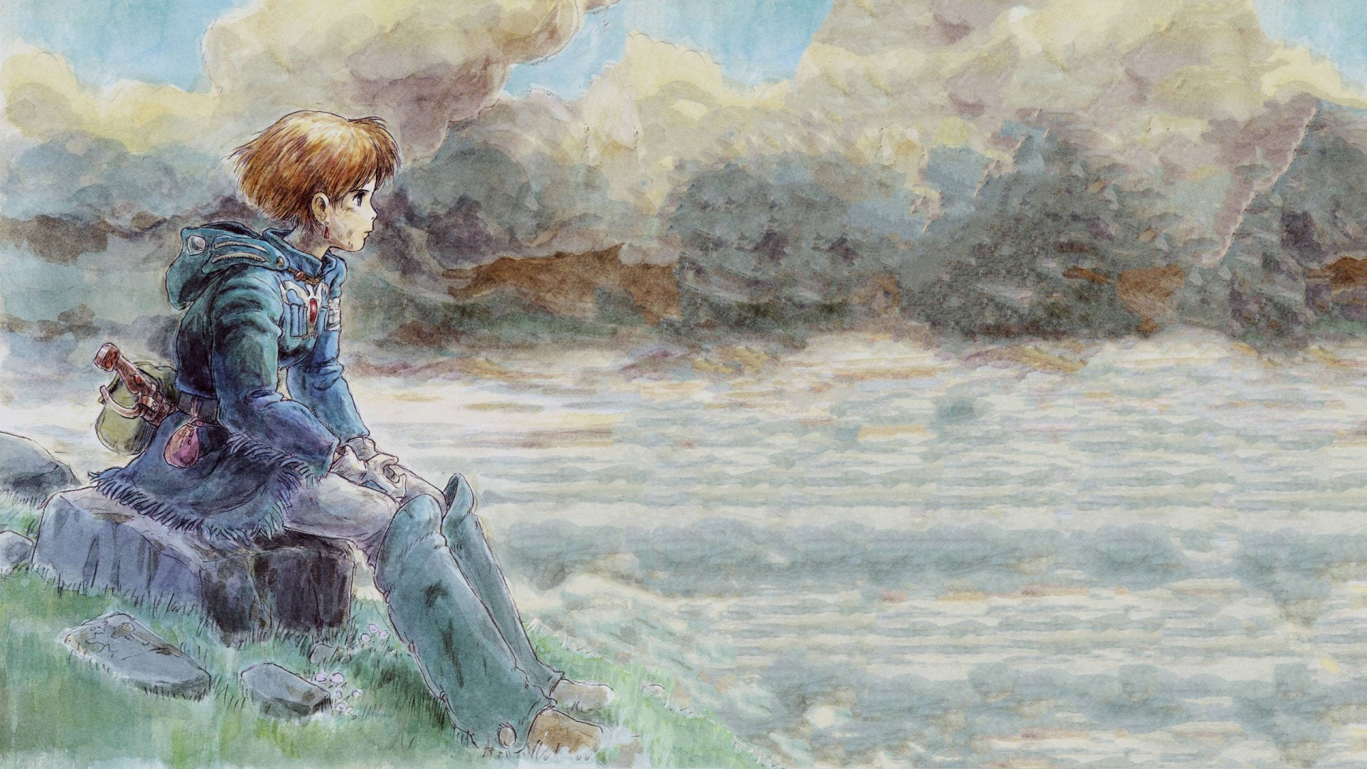 1920x1080 Nausicaa of the Valley of the Wind desktop PC ...