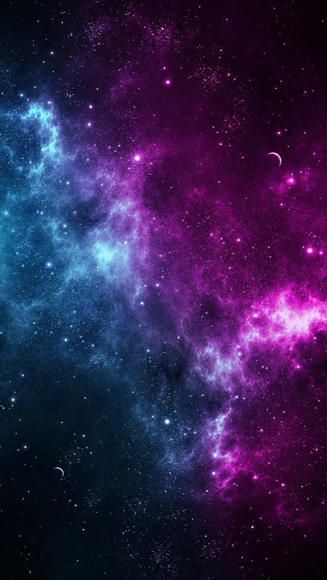 colorful nebula iphone wallpaper - photo #11