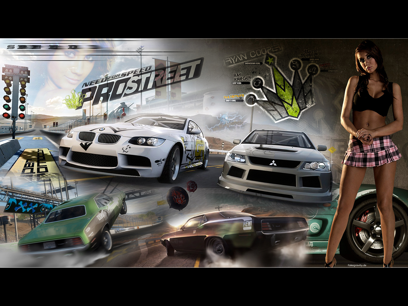 1600x1200 need for speed pro street desktop pc and mac. Black Bedroom Furniture Sets. Home Design Ideas