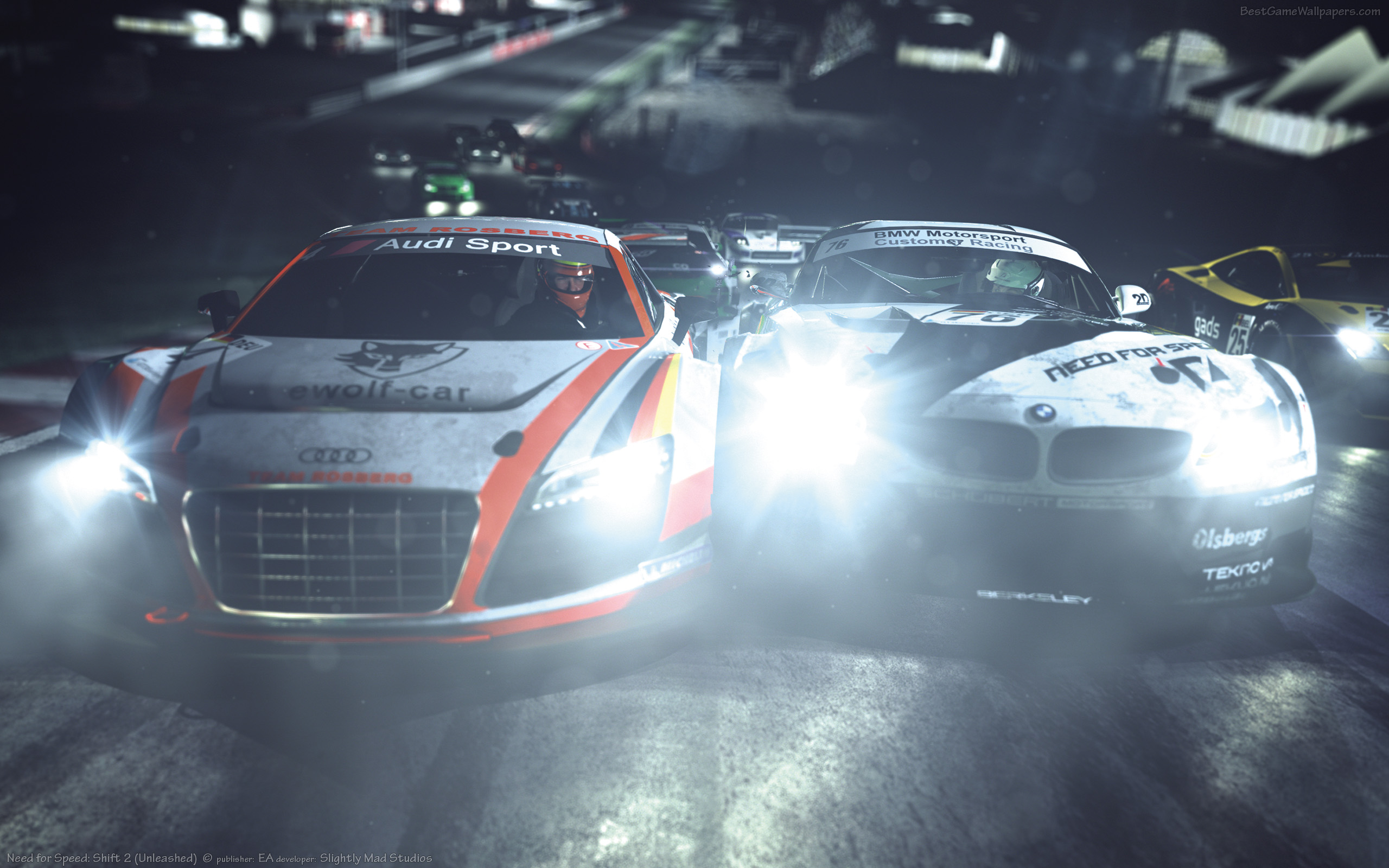 2560x1600 Need For Speed Shift 2 Desktop Pc And Mac Wallpaper