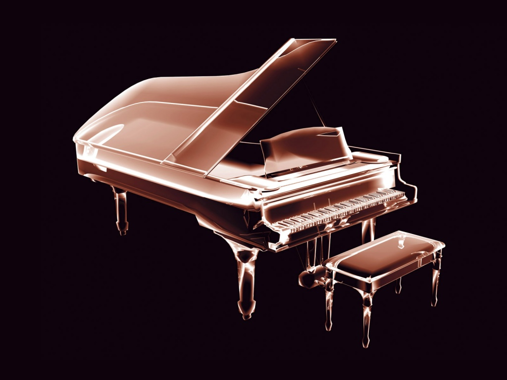 abstract piano art wallpaper - photo #7