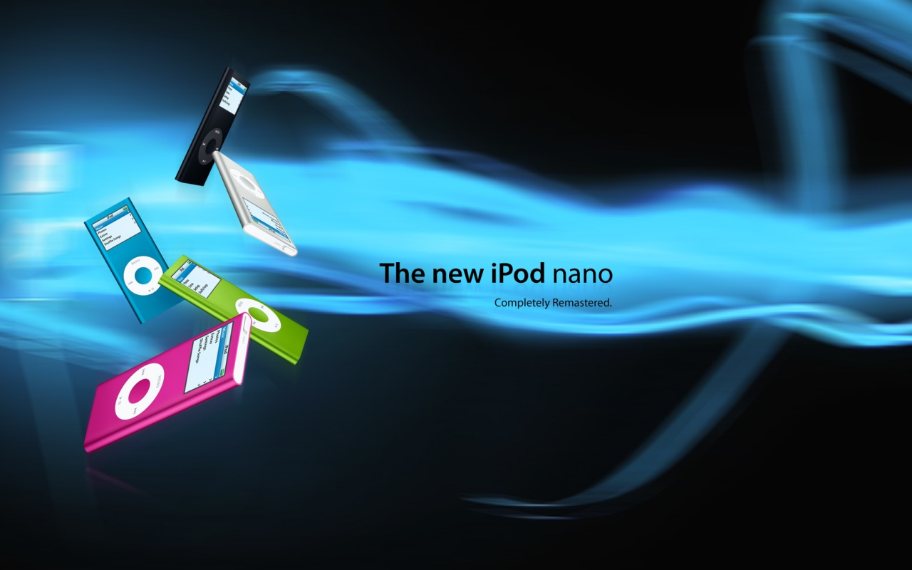 1280x800 New Ipod Nano desktop wallpapers and stock photos