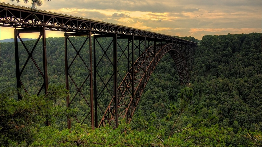 852x480 New River Gorge Bridge One