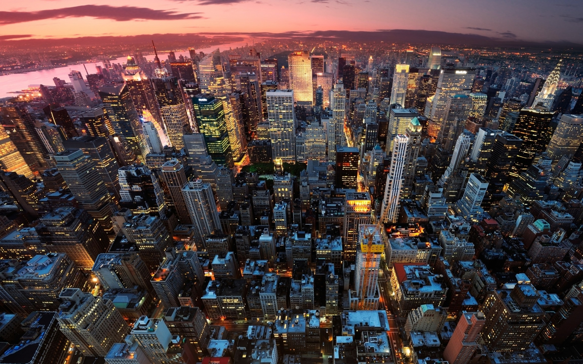 1920x1200 New York City Skyline Desktop Pc And Mac Wallpaper