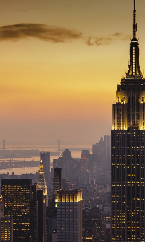 480x800 new york city sunset usa world lumia 900 wallpaper for Wallpaper home new york