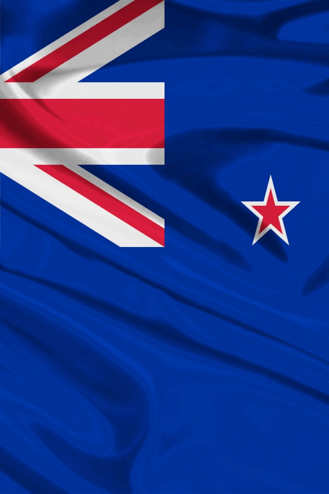 640x960 New Zealand Flag Iphone 4 Wallpaper