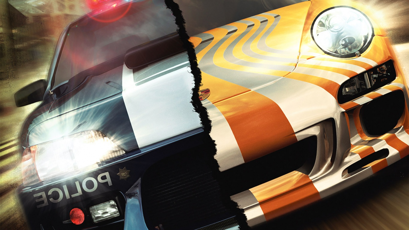 1366x768 NFS: Most Wanted