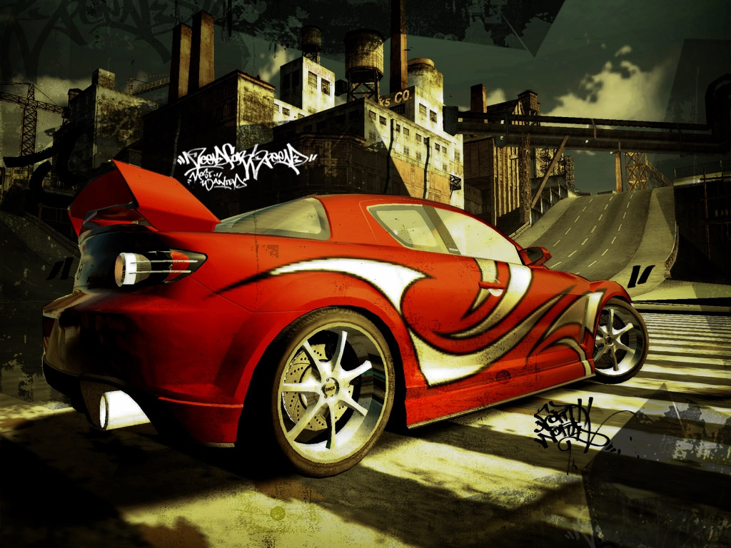 Image NFS Red Mazda RX8 Wallpapers And Stock Photos