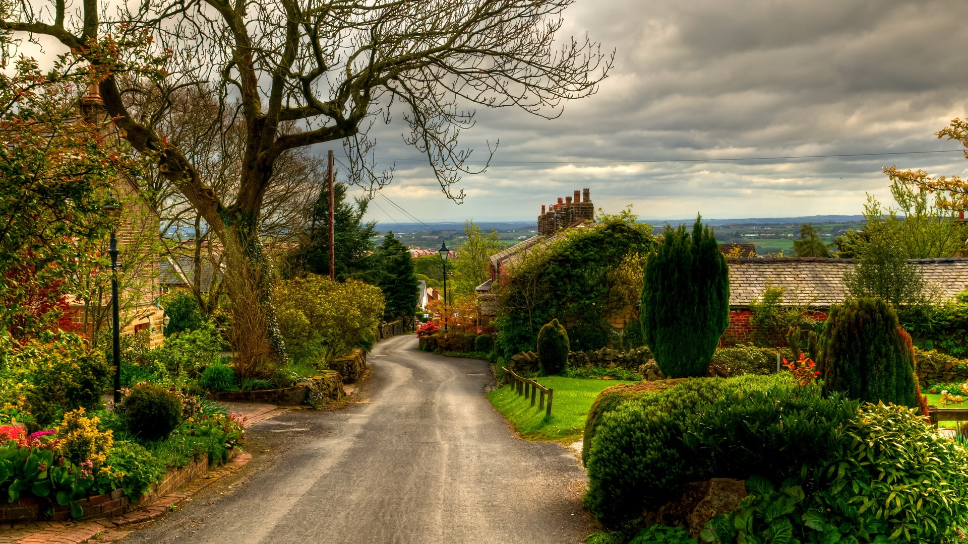 1920x1080 nice village england desktop pc and mac wallpaper for Wallpaper home uk