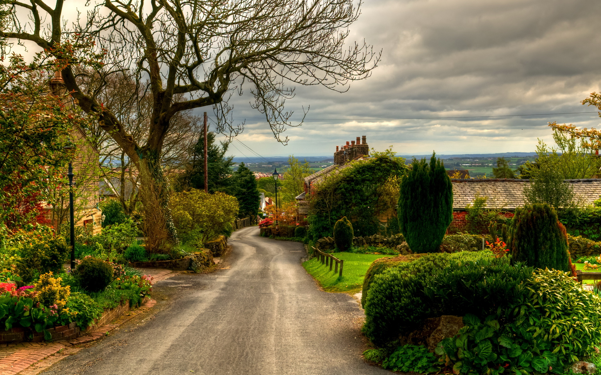 1920x1200 nice village england desktop pc and mac wallpaper - Wallpaper pictures ...