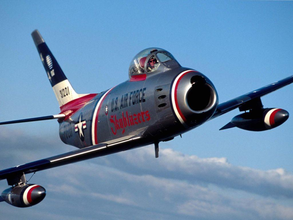 F86 Sabre Download free Military wallpapers and desktop backgrounds!
