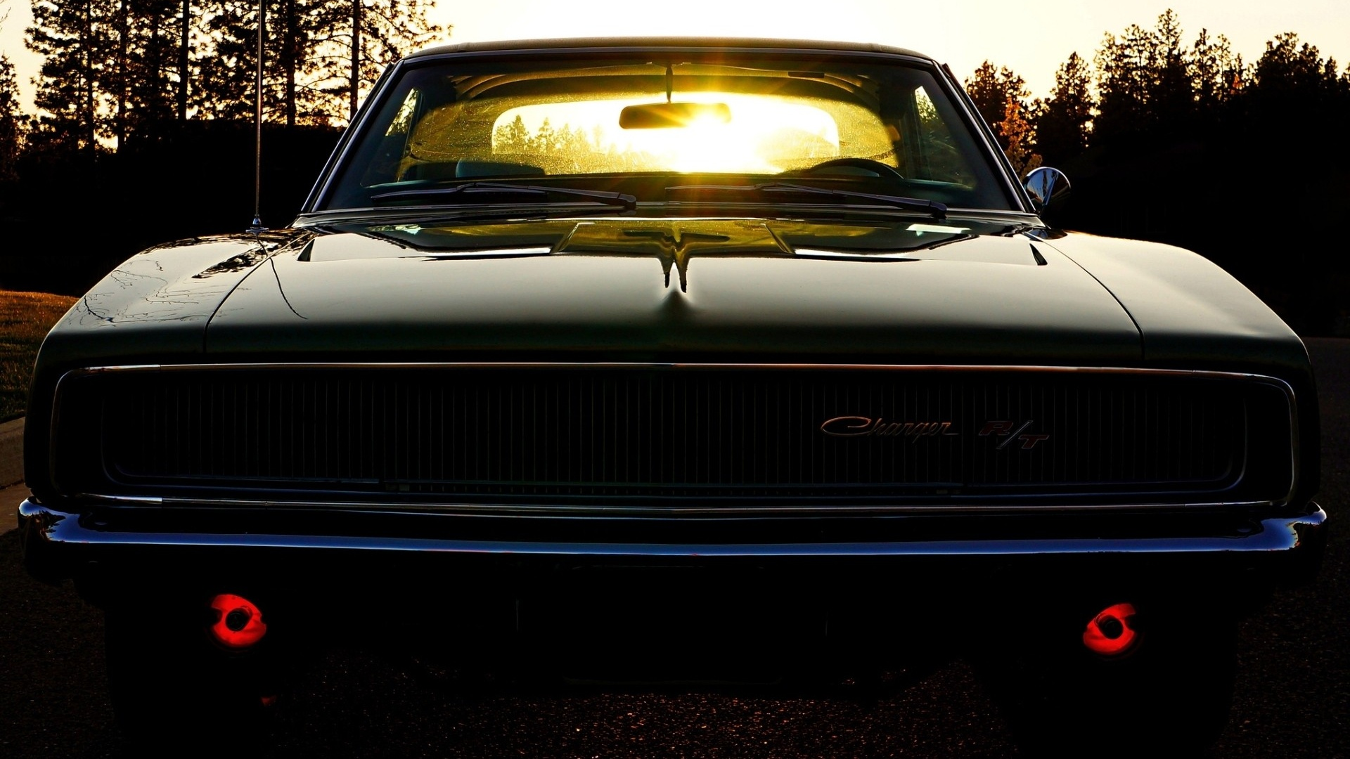 1920x1080 Old School Dodge Charger desktop PC and Mac wallpaper