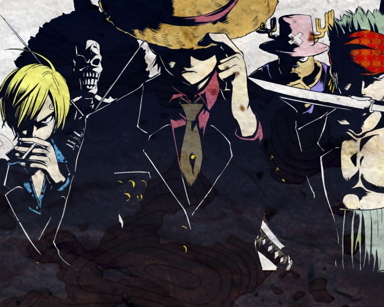 1280x1024 one piece, anime desktop pc and mac wallpaper