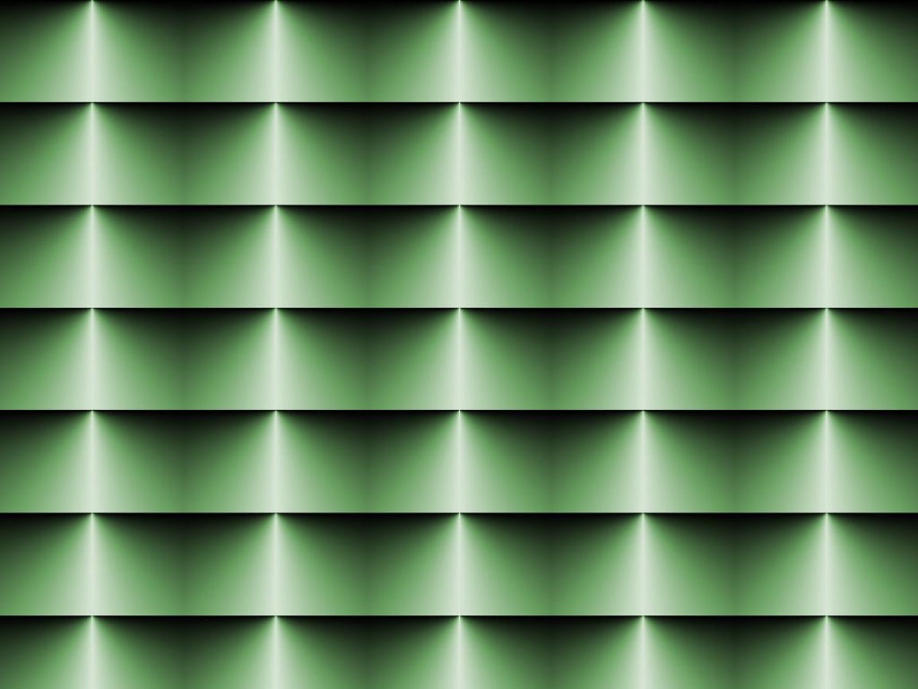 1024x768 Op Art Horizontal Blinds Green