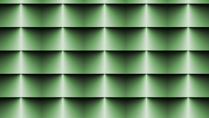 825x315 Op Art Horizontal Blinds Green
