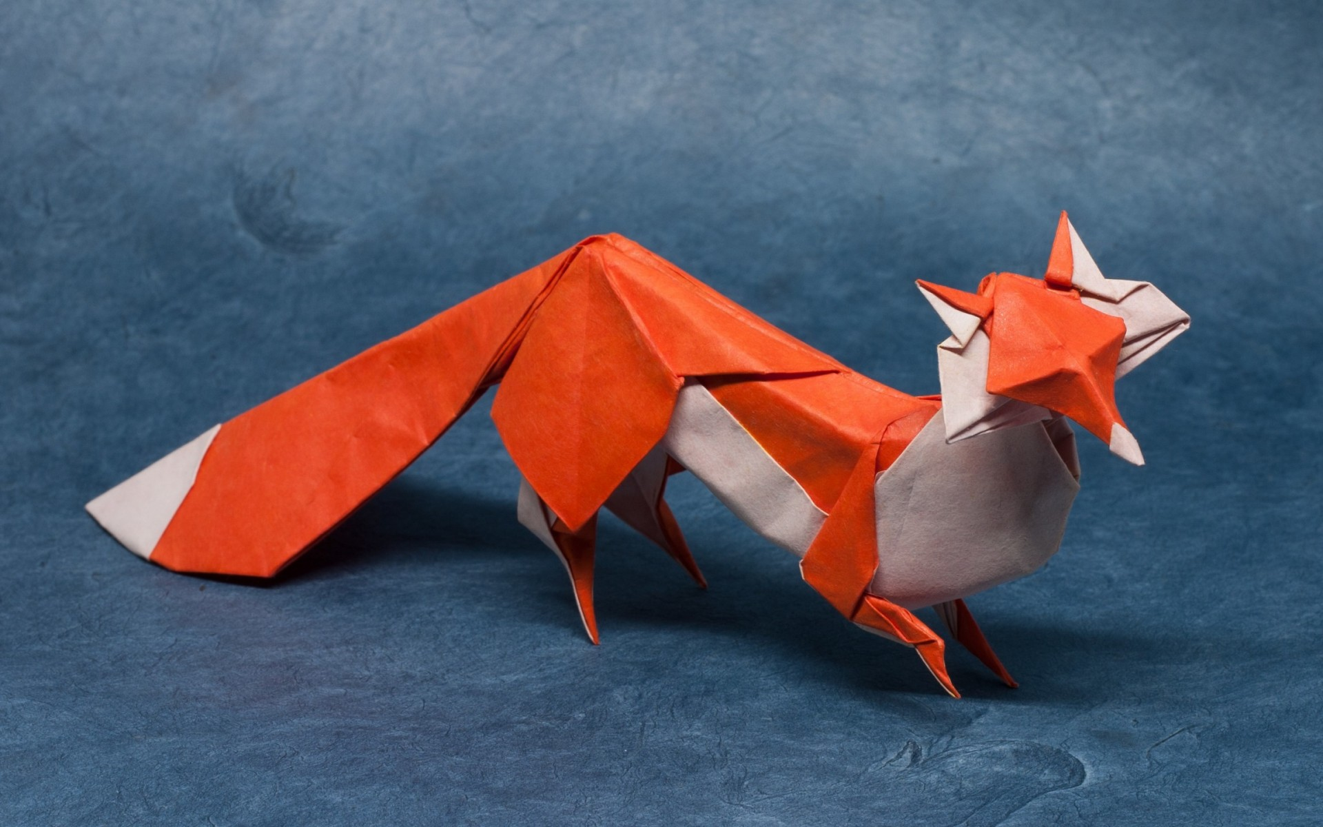 origami fox wallpapers