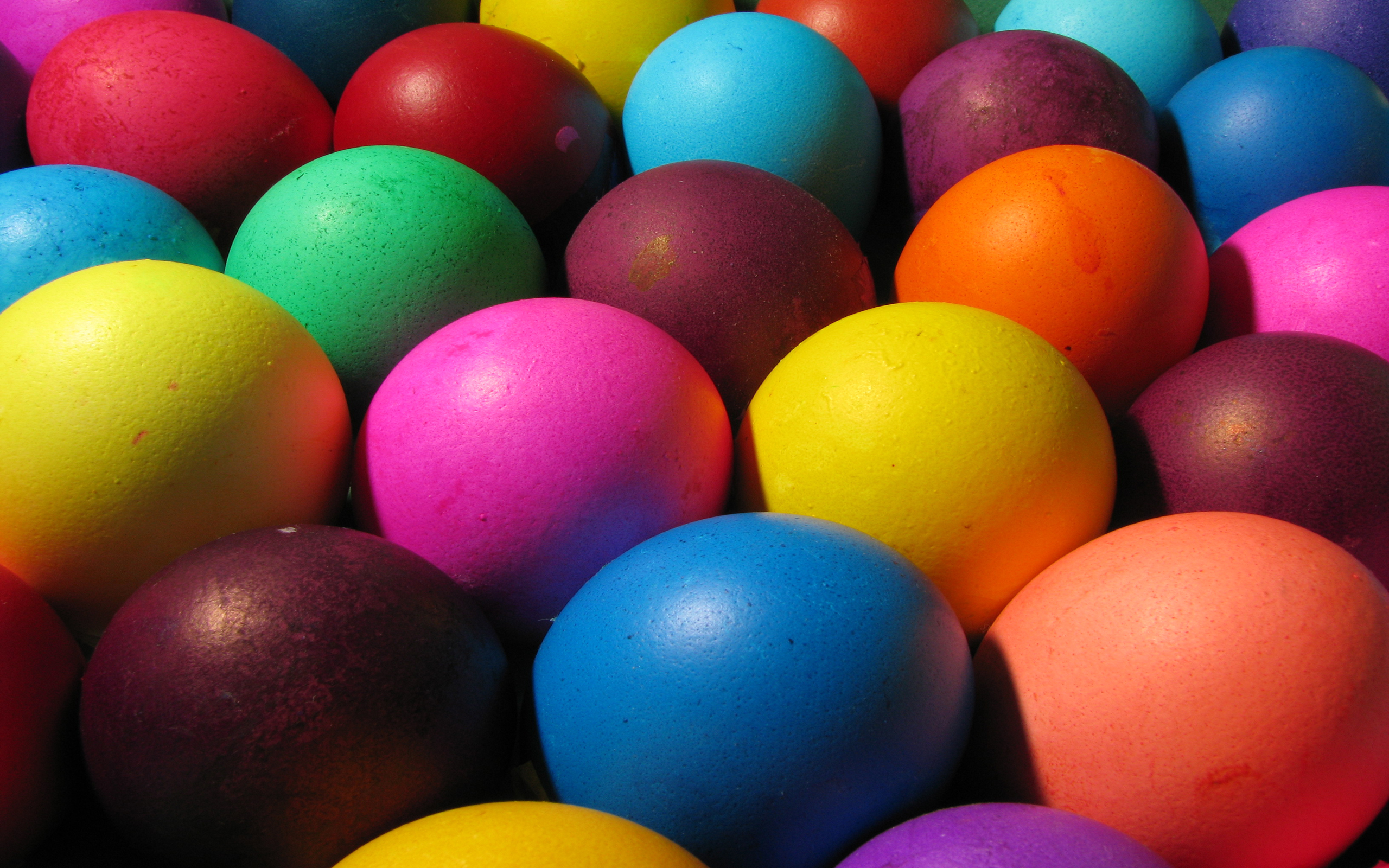 colored easter eggs hd - photo #3
