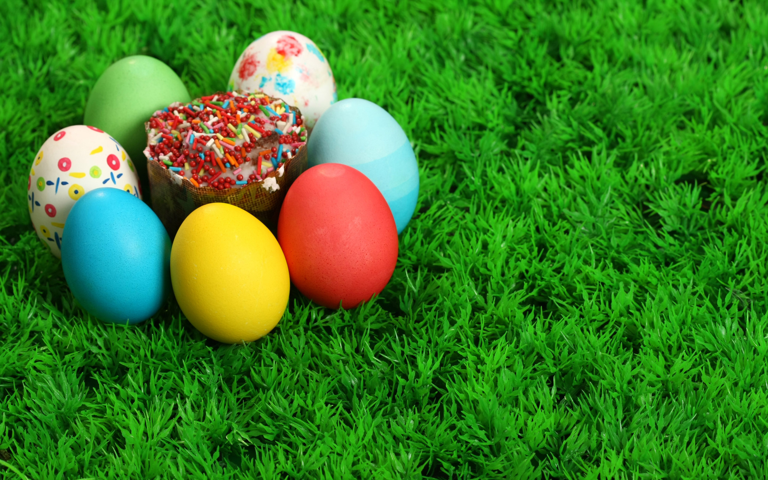 colored easter eggs hd - photo #46