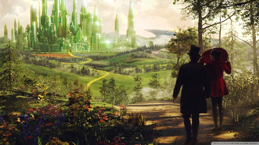 852x480 Oz The Great And Powerful Oscar Digss and Theodora